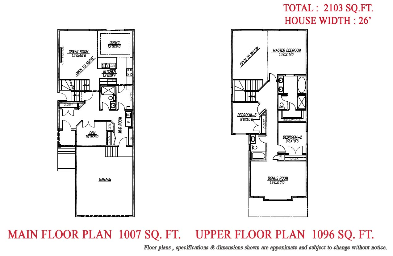 The fortis Floor Plan